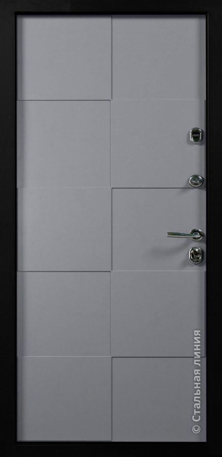 дверь квадро стальная линия Д-14 эмаль