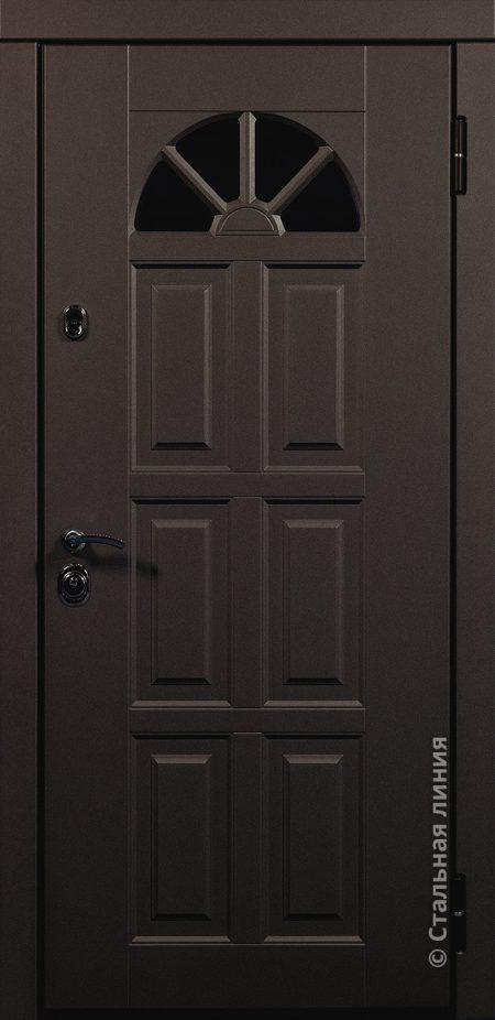 дверь Кармен Мидл стальная линия