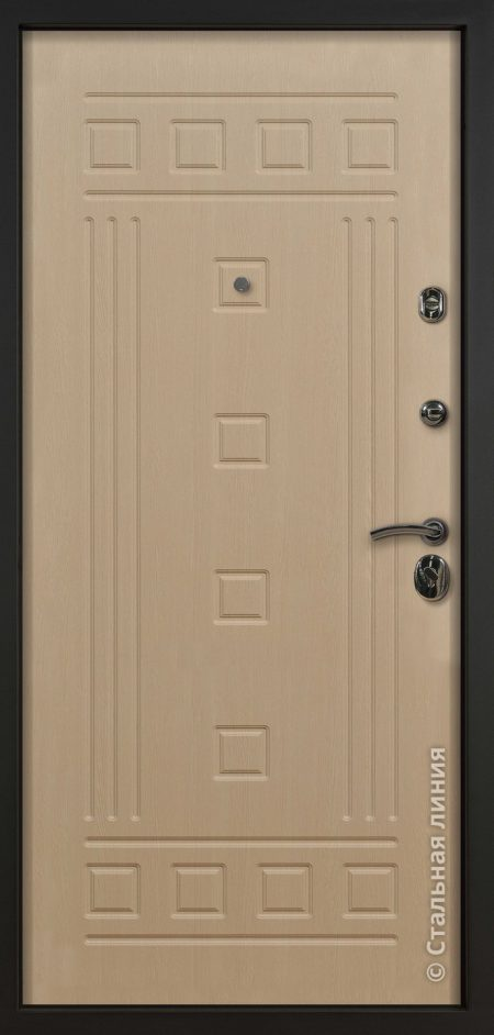 дверь стиль стальная линия