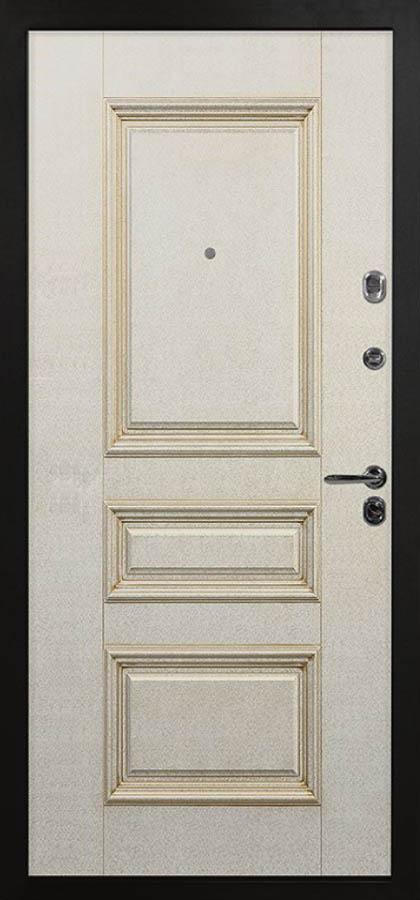 Барон Входная дверь стальная линия классическая с багетом Л-1