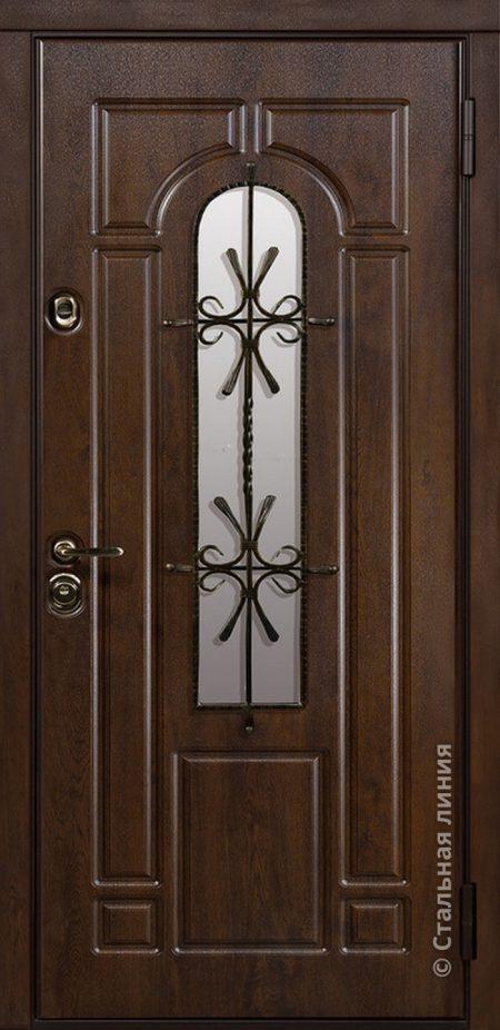 тауэр уличная дверь с окном