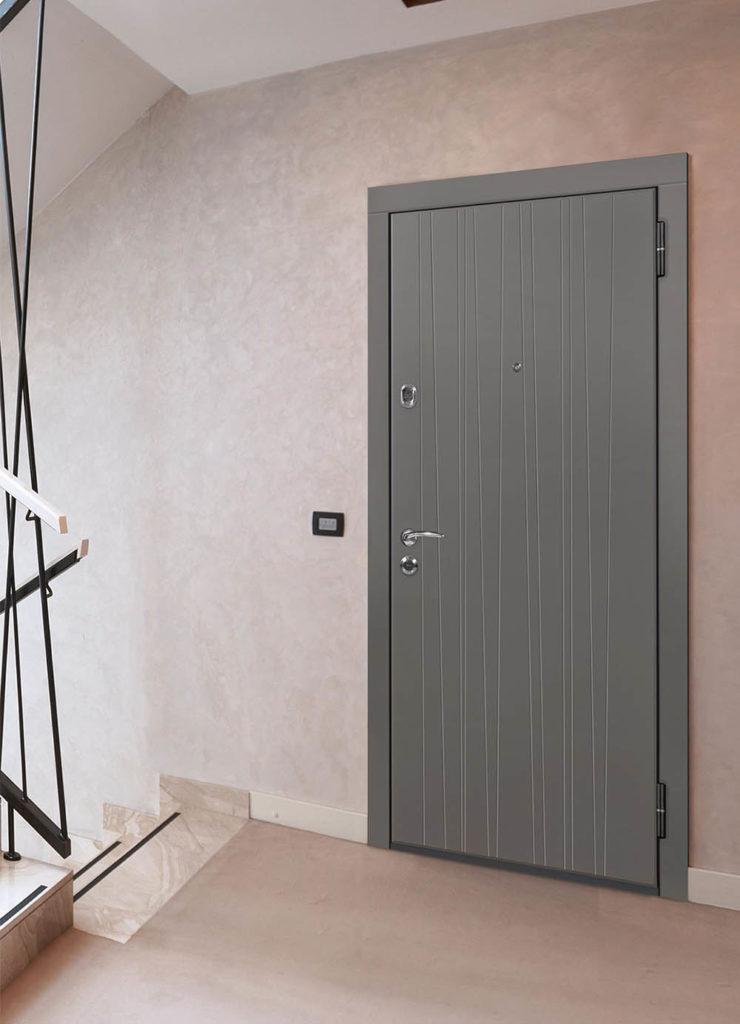 Фьюжн входная дверь Стальная Линия Н-75