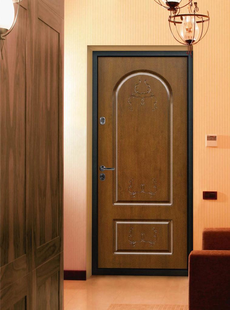 Лео входная дверь стальная линия П-4