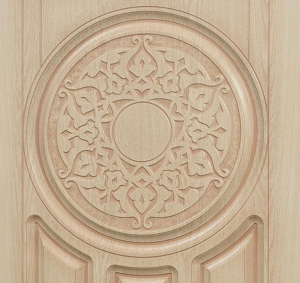 Лео входная дверь художественная фрезеровка стальная линия ХФ-36