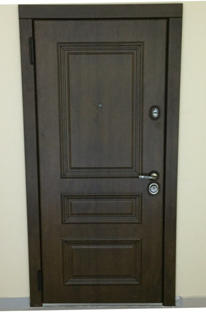 Входная дверь Старый Лондон Стальная Линия