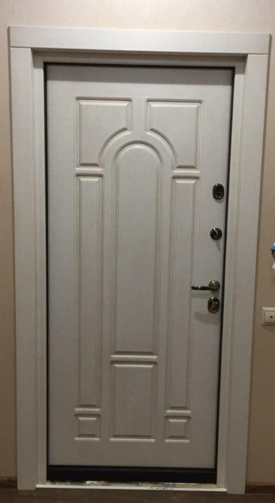 входная дверь Н-90 стальная линия откосы