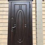 дверь Монарх глухой Н-54 стальная линия