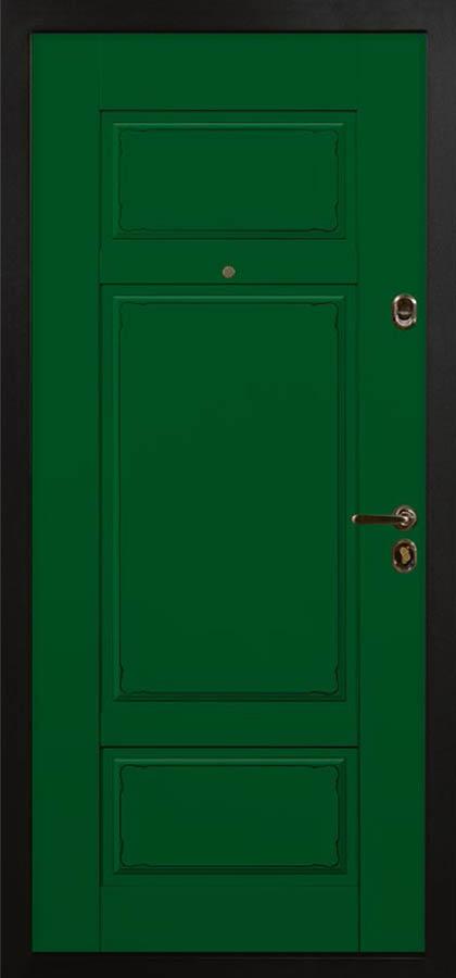 Кадриль входная дверь классического стиля стальная линия П-40