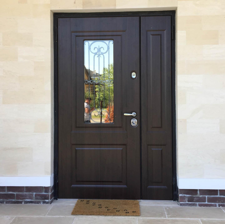 дверь Сорренто Стальная Линия