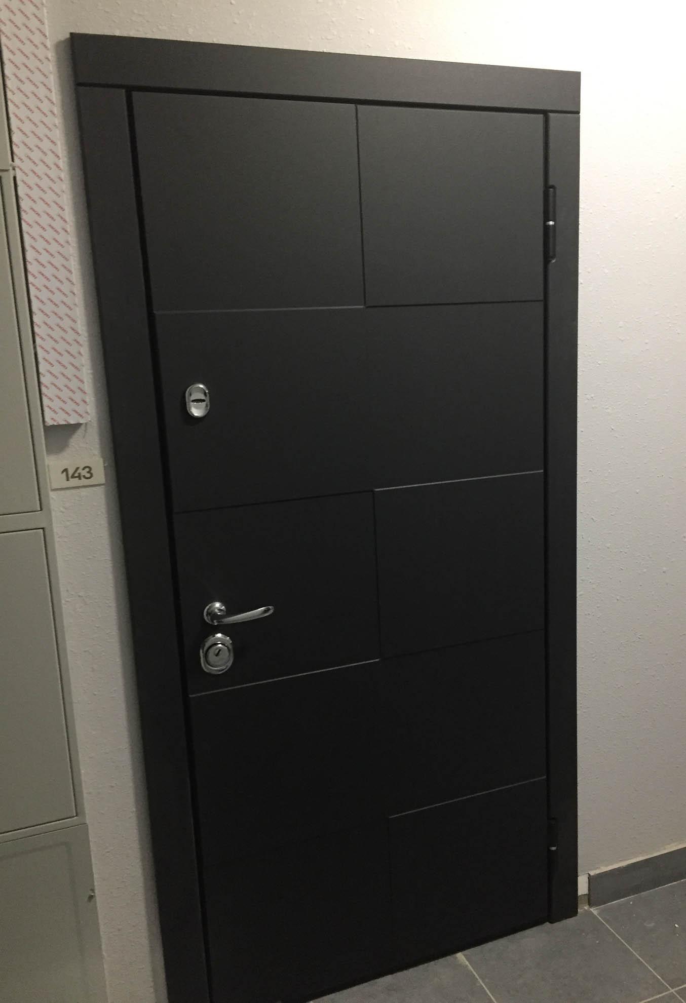 дверь Квадро Стальная Линия