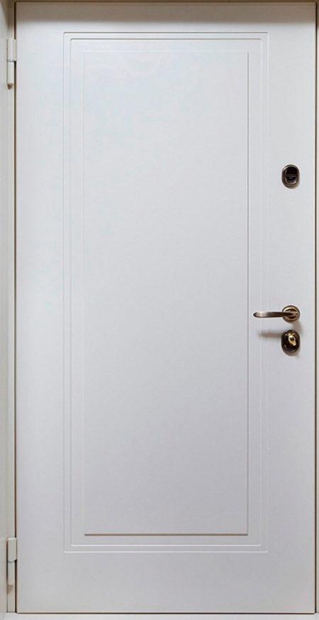 Дверь Виктория Стальная Линия фрезеровка П-51