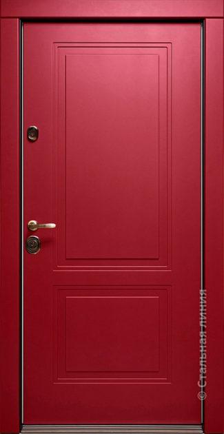 Дверь Виктория Стальная Линия фрезеровка П-50