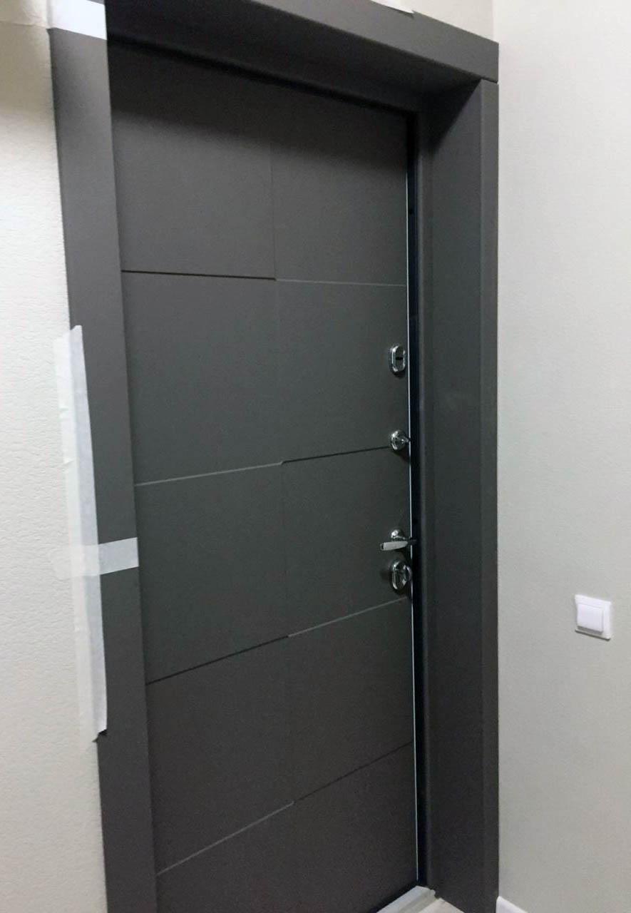 откосы для входной двери Стальная Линия