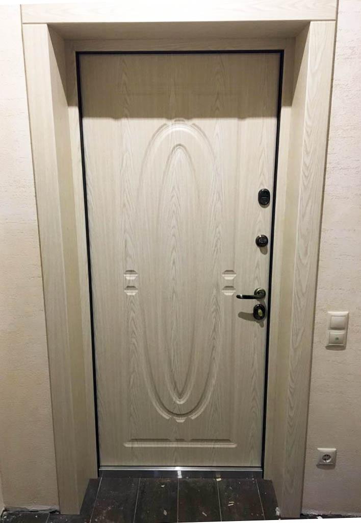 откосы входная дверь Монарх Стальная Линия