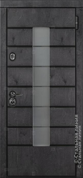 Аликанте (Alikante) входная дверь в дом Стальная Линия Bjork Н-71 О-С