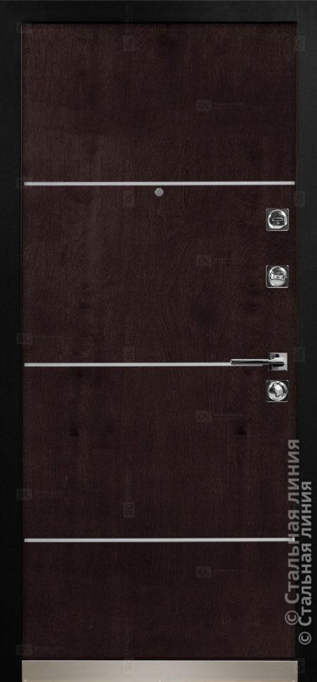Аваланж (Avalanche) входная дверь в дом Стальная Линия Bjork CM.06