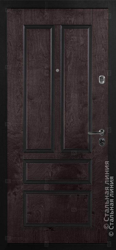 Олеандр (Oleandr) Лайт входная уличная дверь Стальная Линия Bjork П-49