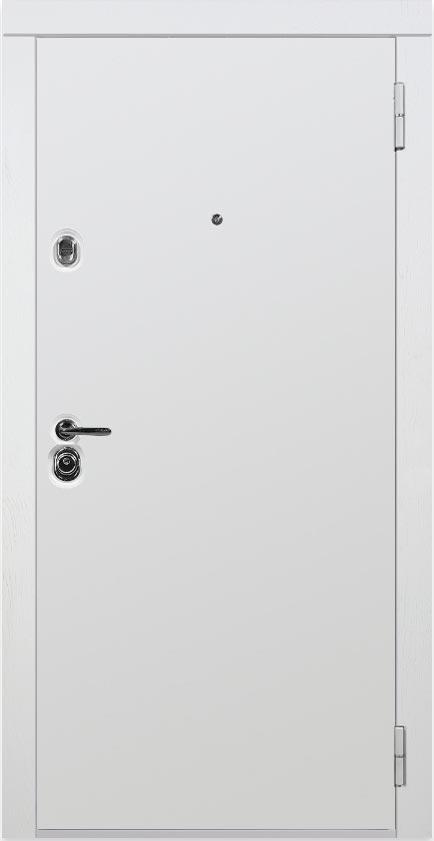 Входная дверь Белла в наличии со склада Стальная Линия ясень белый