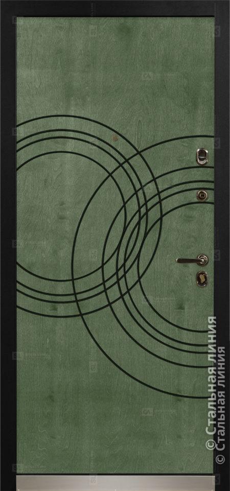 Саунд (Sound) входная уличная дверь Стальная Линия Bjork CF.02