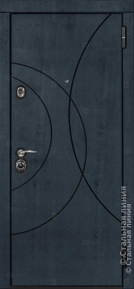 Саунд (Sound) Лайт входная дверь в квартиру Стальная Линия Bjork cf.01