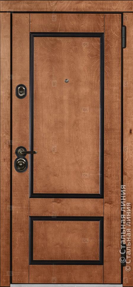 Вермонт Vermont входная уличная дверь Стальная Линия Bjork П-45
