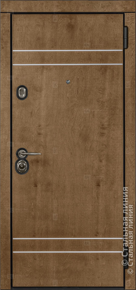 Винсент (Vinsent) входная дверь в квартиру Стальная Линия Bjork CM.02