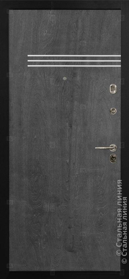 Винсент (Vinsent) входная дверь в квартиру Стальная Линия Bjork CM.03