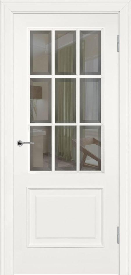 232.3 R2 ДО элитные межкомнтаные двери эмаль фацет Potential Doors