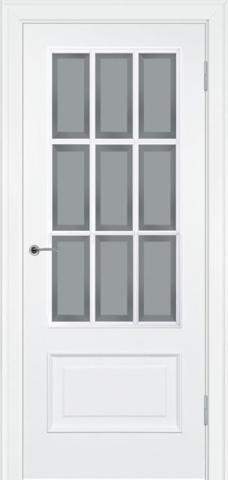 234.3 R2 ДО элитная межкомнтаная дверь эмаль фацет Potential Doors