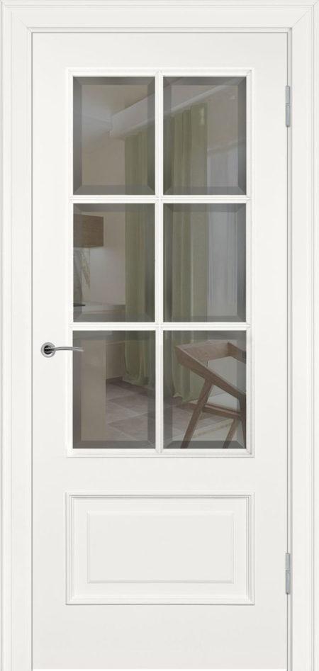 234.3 R1 ДО элитные межкомнатные двери эмаль фацет Potential Doors