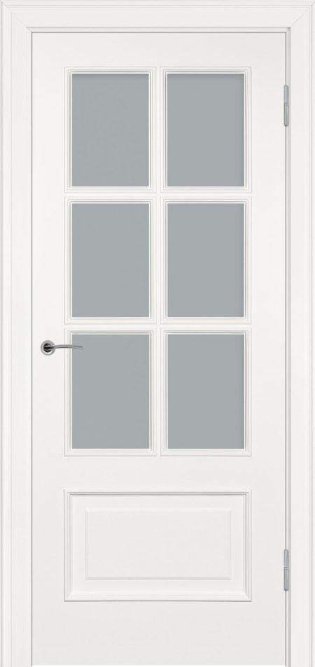 234.3 ДО сатинат элитная межкомнатная дверь эмаль Potential Doors