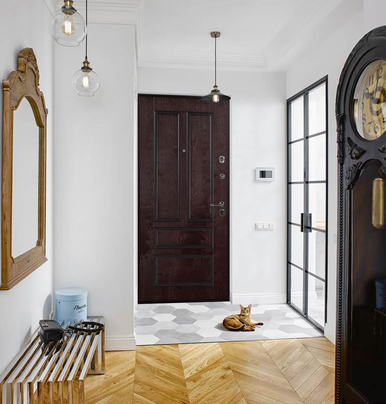 Oleandr Bjork Стальная Линия входная дверь в квартиру