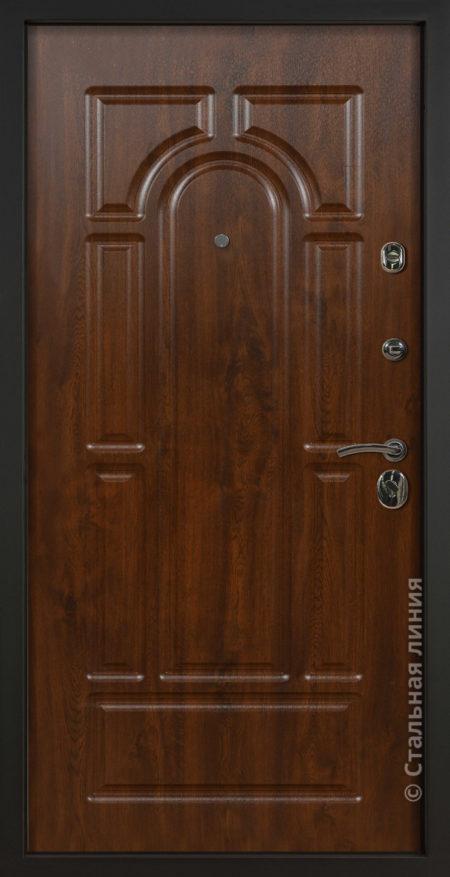 Парма уличная дверь с терморазрывом Стальная Линия