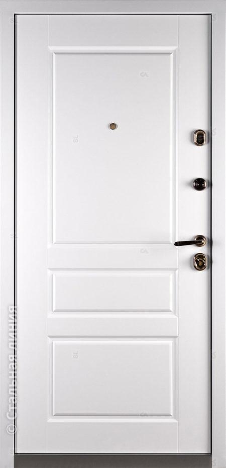 Эден входна дверь в дом в наличии по складу Стальная Линия