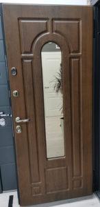 Тауэр стеклопакет дверь для дома стальная линия