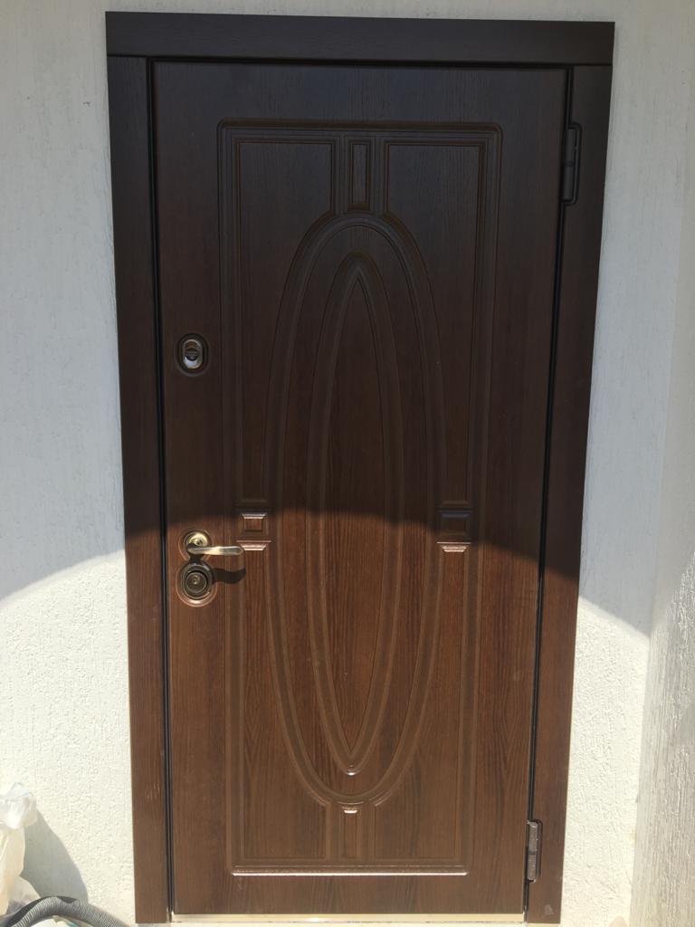 OAK н-54 входная дверь стальная линия