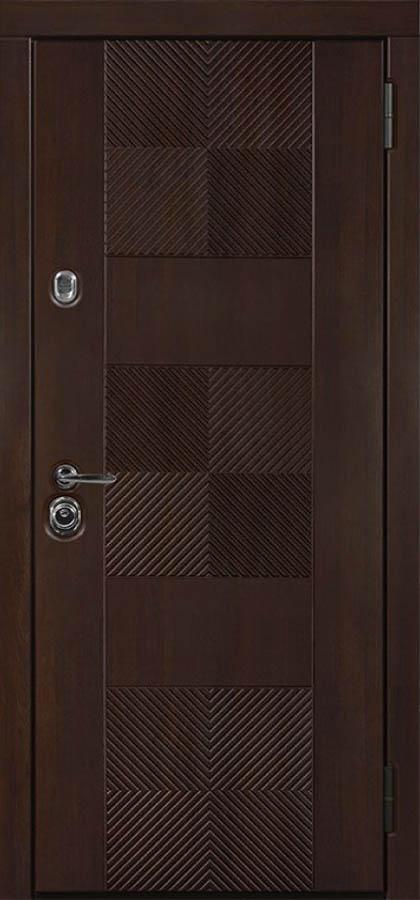 Брайтон входная дизайнерская дверь стальная линия