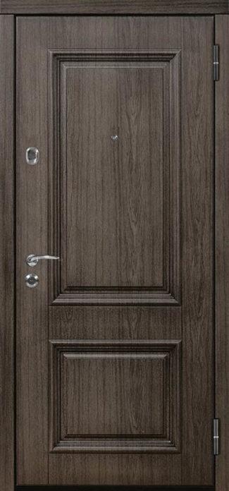 Британия входная дверь классический стиль багет стальная линия л-2