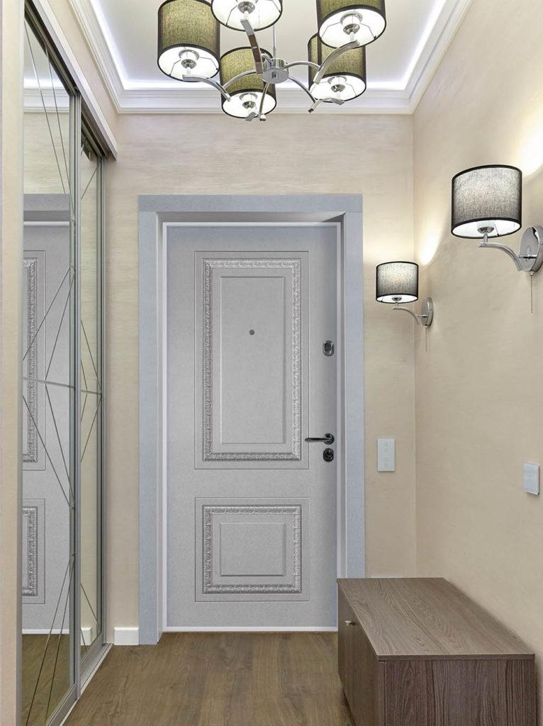 Монако входная дверь классического дизайна стальная линия