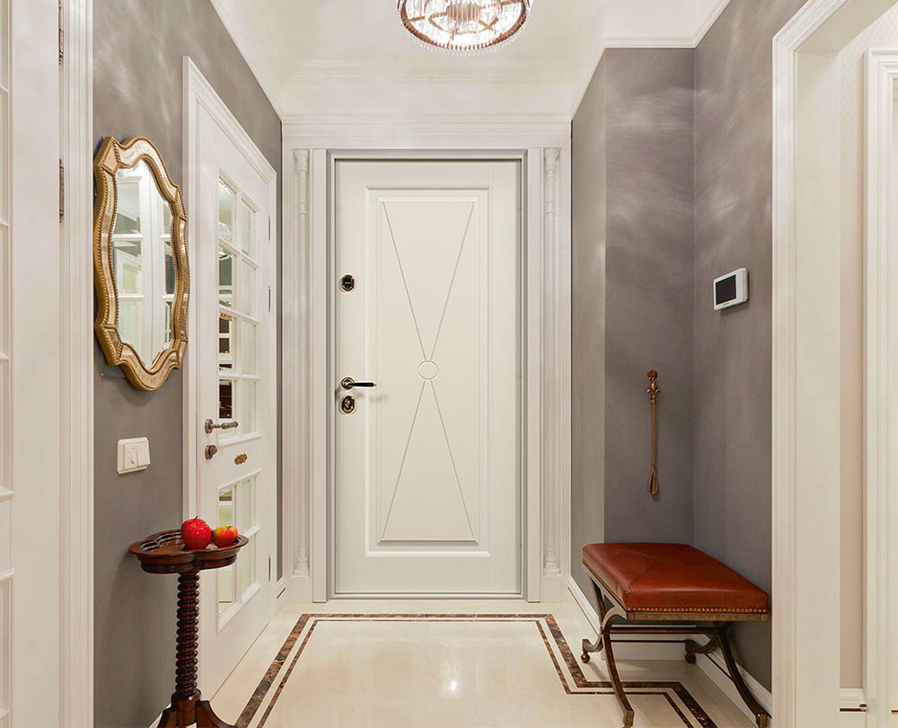 Париж входная дверь в классическом стиле стальная линия П-38