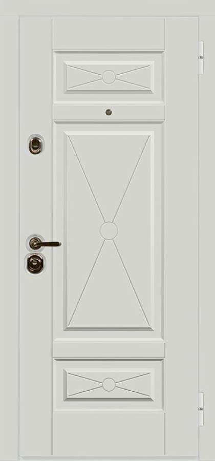 Париж входная дверь классический дизайн стальная линия П-37