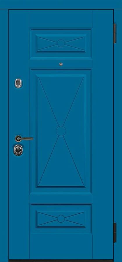 Париж входная дверь классического стиля стальная линия П-37