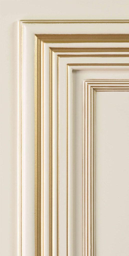 Поло входная дверь багет классика стальная линия