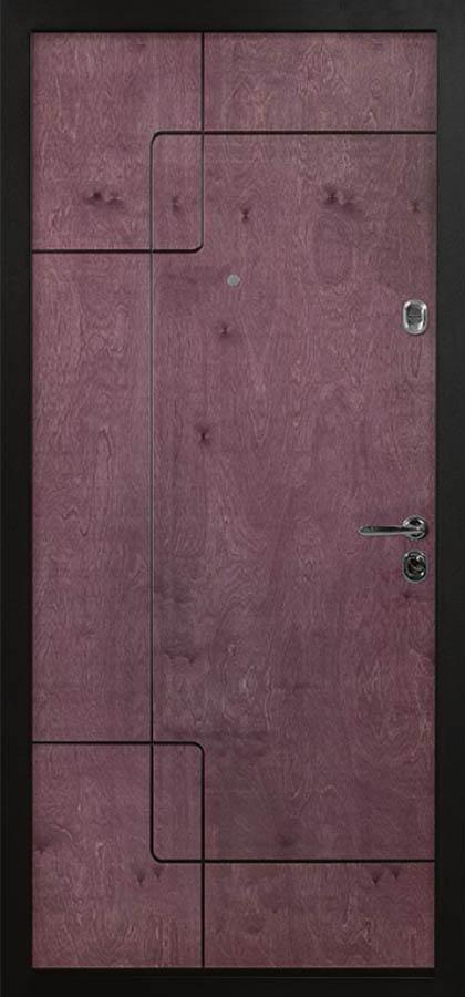 Стокгольм входная дверь стальная линия бьорк bjork натуральный шпон березы рэй-2