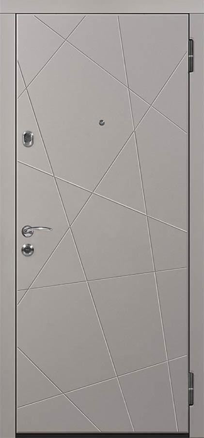 Теруэль входная дверь стальная линия д-13 хаотичные линии