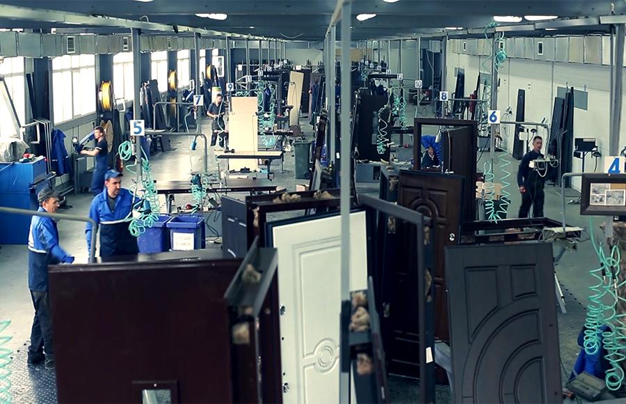 завод входных дверей стальная линия