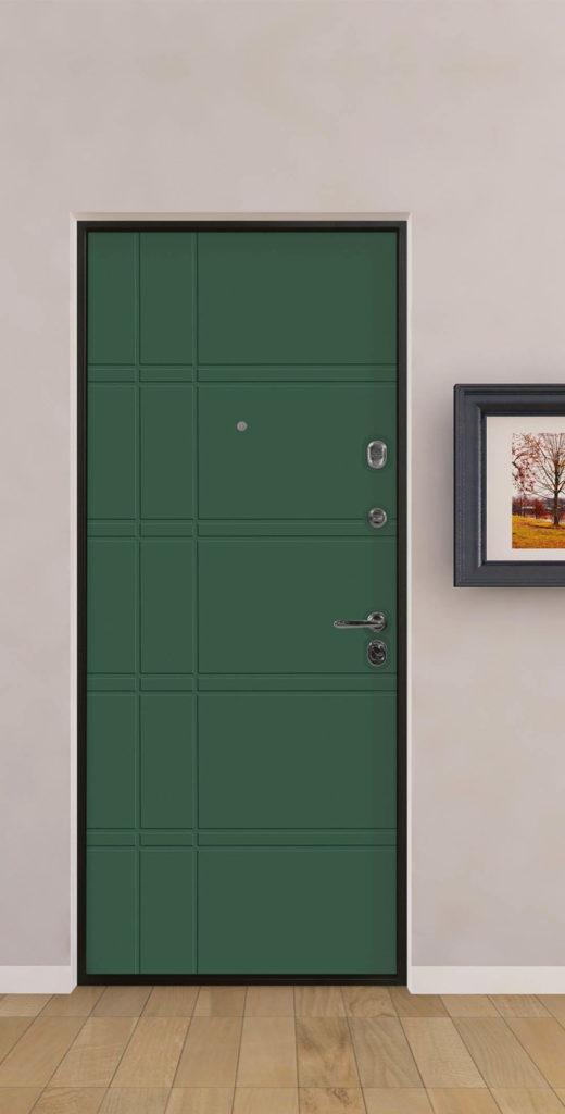 Входная дверь в квартиру стальная линия фрезеровка параллель из параллельные пересекающиемя линии