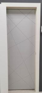 межкомнатная дверь эмаль хаотичные линии enamel classic 111 potential doors