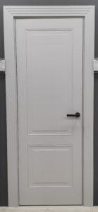 межкомнатная дверь неоклассика два квадрата enamel classic 242.1 potential doors