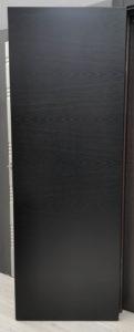 межкомнатная дверь натуральный шпон ясеня эмаль чёрная blend 400 potential doors